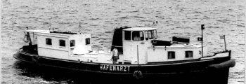 1959 – 1983 Barkasse mit Dieselantrieb